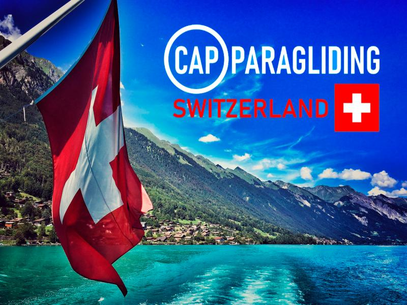 Cap-Paragliding Switzerland eCommerce Project